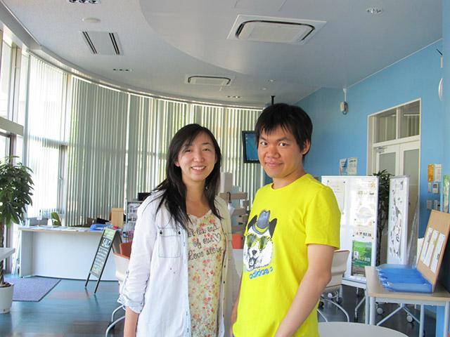 Xiaoyang (left) and Panda (right)
